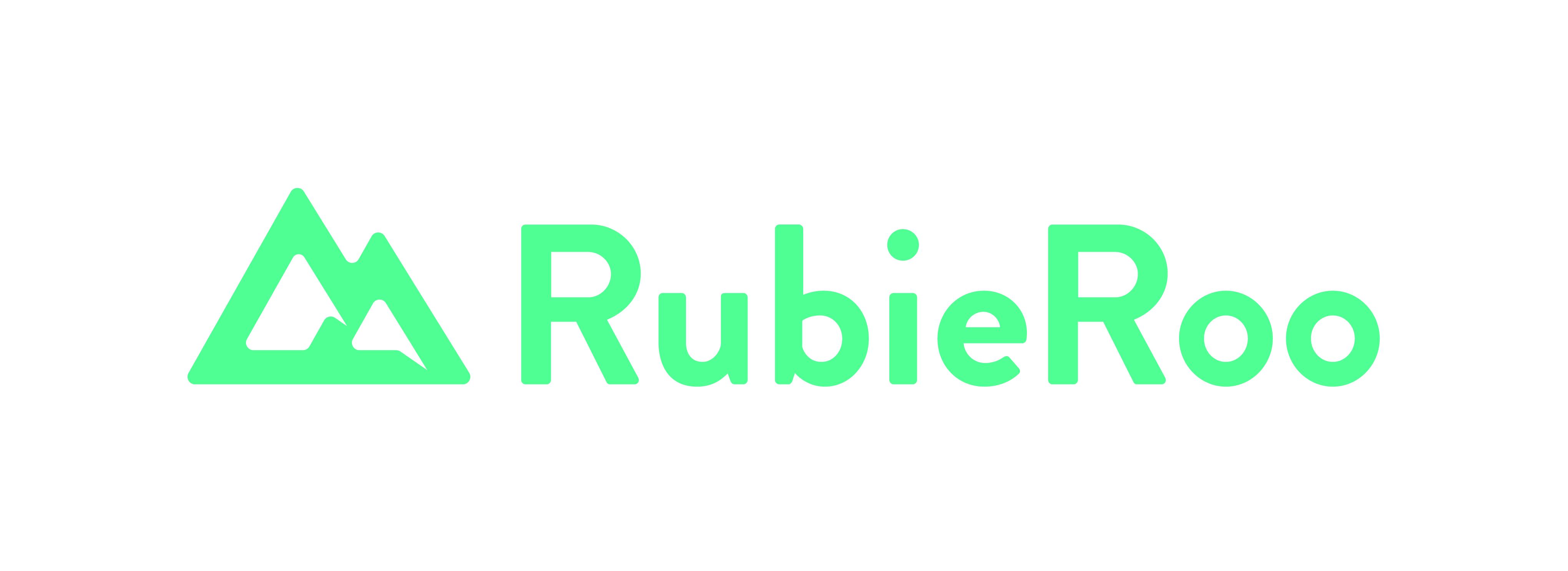 Rubieroo colour logo