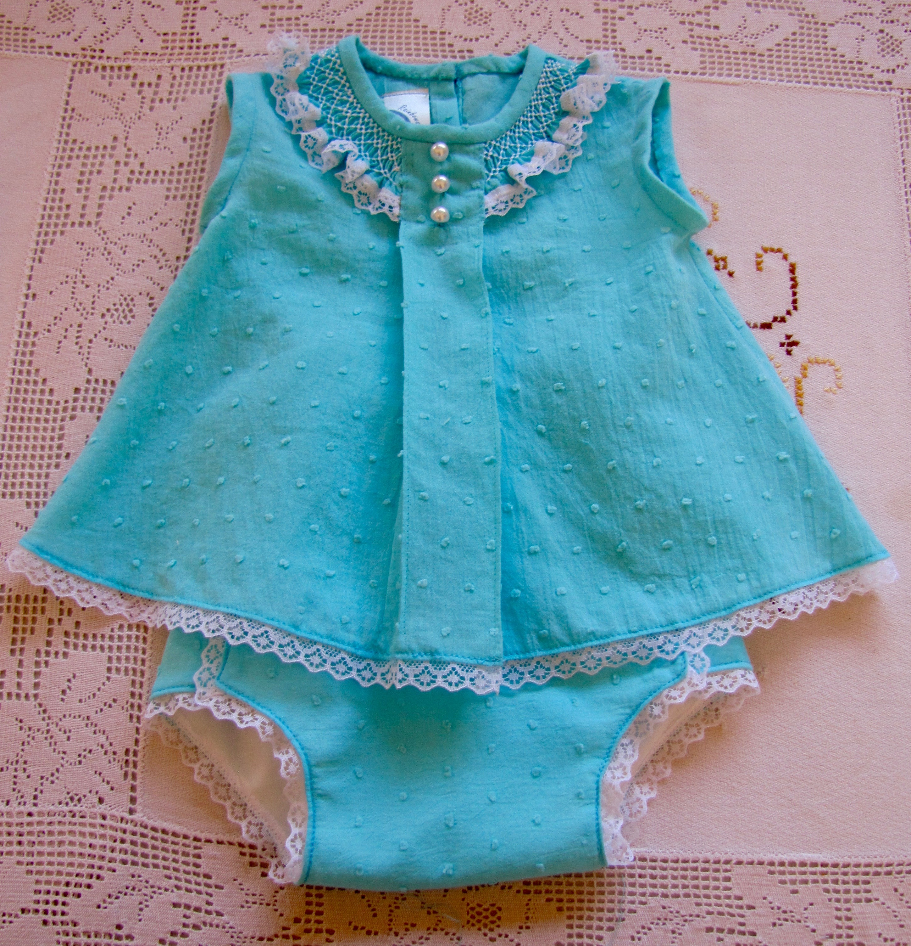 Infants Top and Nappy Panty