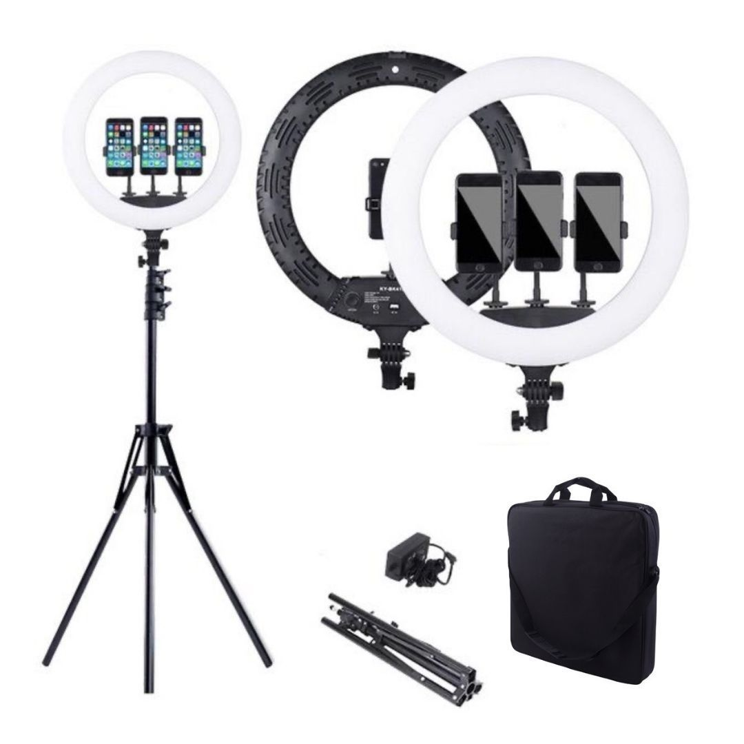 Budget 18inch Ring Light + FREE MiniMicophone AUX