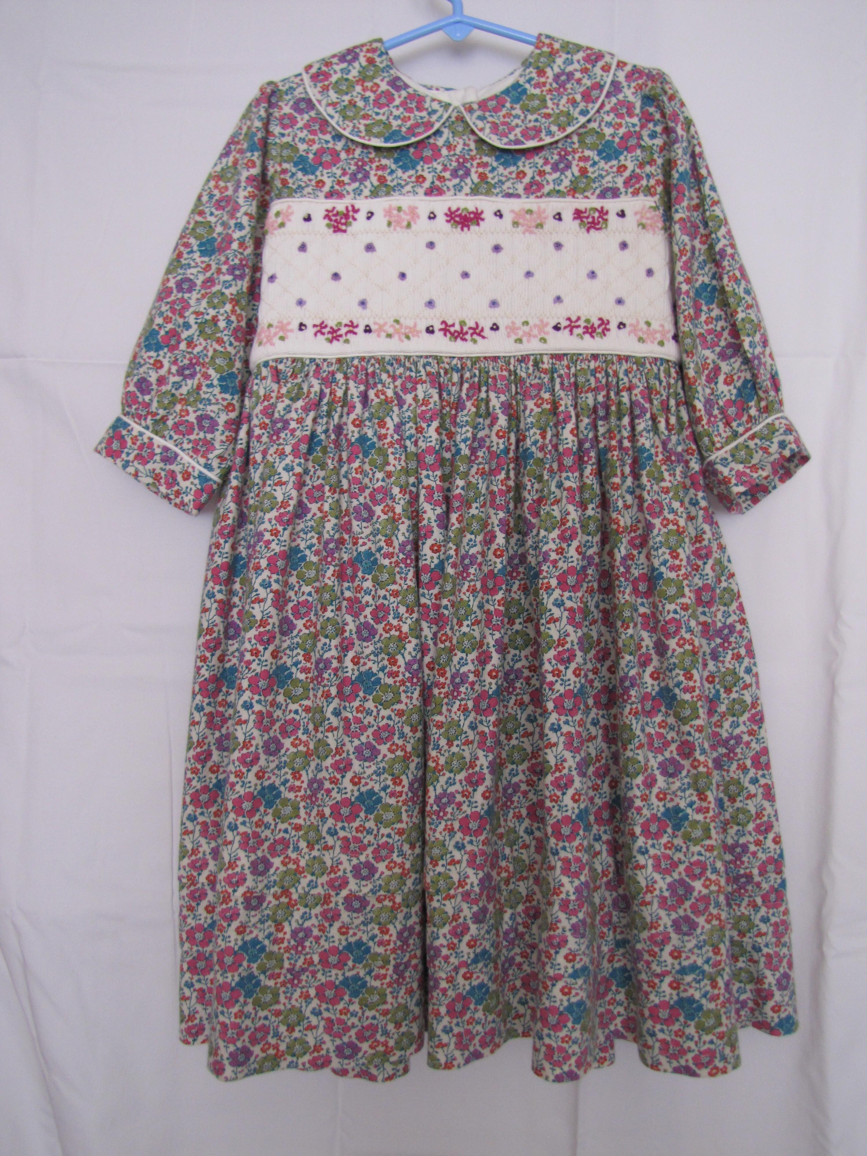 Floral Liberty Print Dress