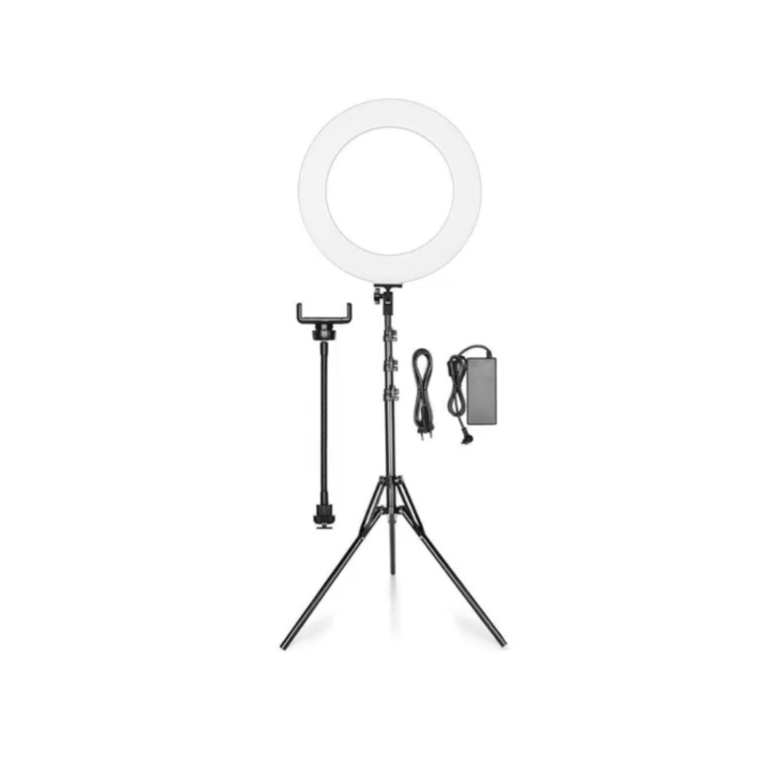 Limited Edition 18inch RingLight SET + FREE MiniMicrophone AUX
