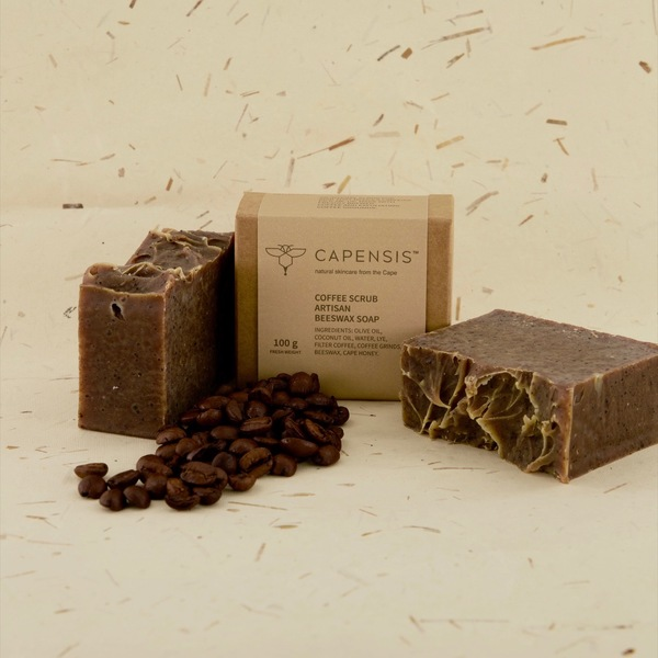 Coffee Scrub Natural Soap Bar