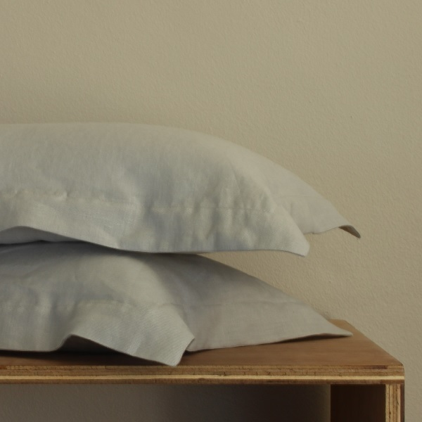 True Linen Collection – Oxford Pillowcases (2) - Mist