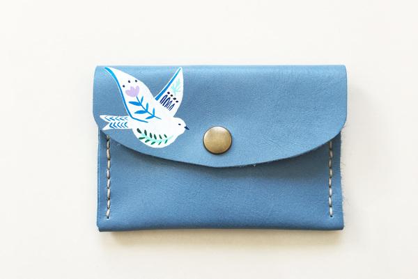 Mini purse - peace