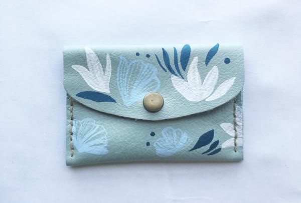 Mini purse - pistachio yaku
