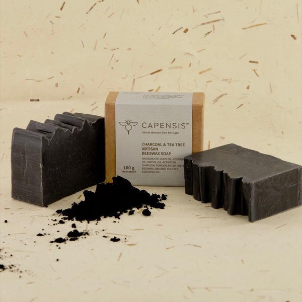 Charcoal & Tea Tree Natural Soap Bar