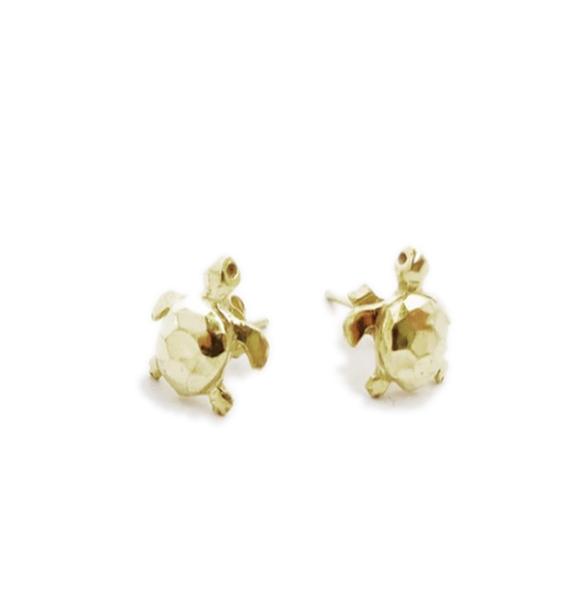 Sea Turtle Stud Earrings