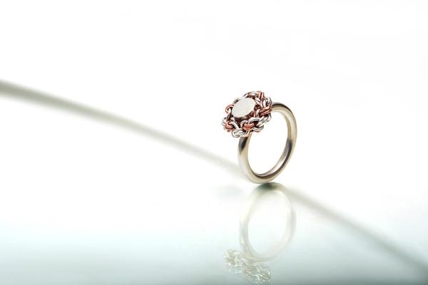 Woven Desire Ring