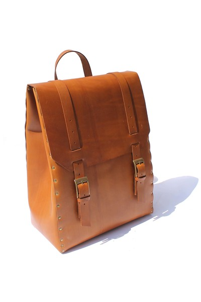 Major John Unlined Rectangle Backpack