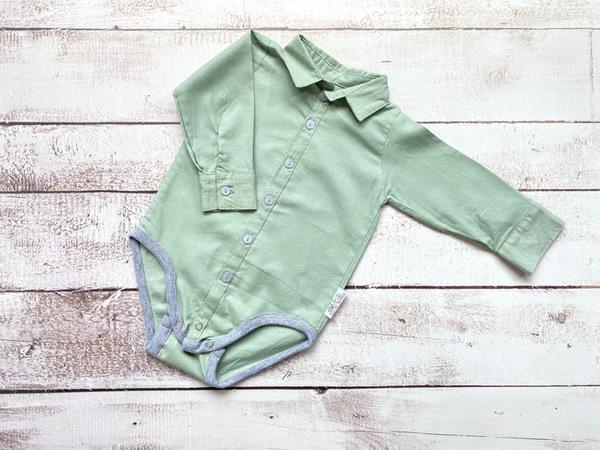 Light green long sleeve shirt