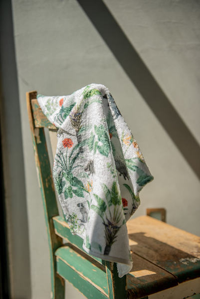 African Safari Guest Towel