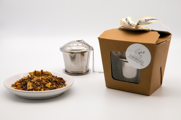 Boxed Tea strainer with 20g tea