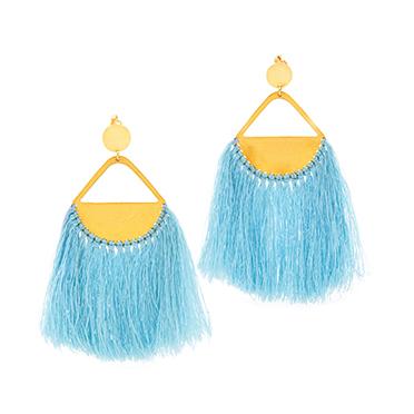 Gypsy pendant Tassel Earrings