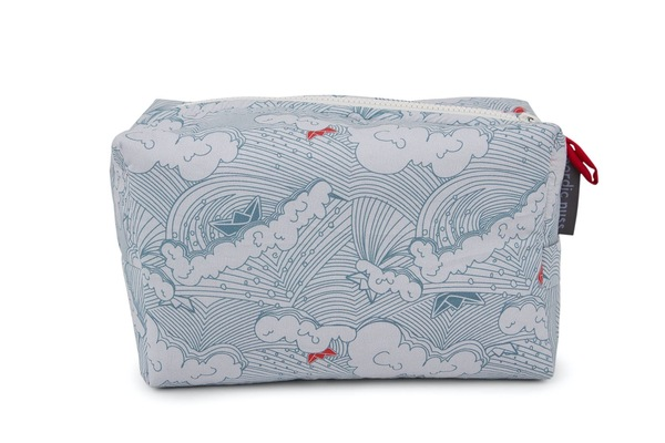Padded Toiletry Bag - Little red boat