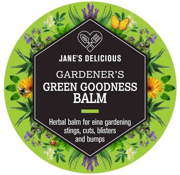Jane's Delicious Gardener's Green Goodness Balm