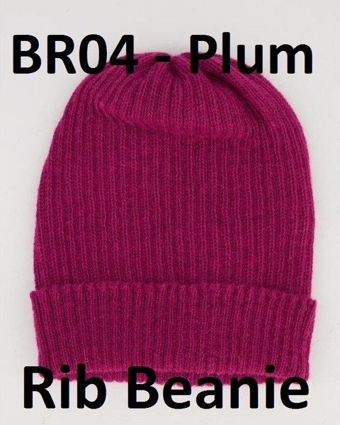 Beanies - Rib , made from 100% alpaca yarn in natural as well as hand dyed colours