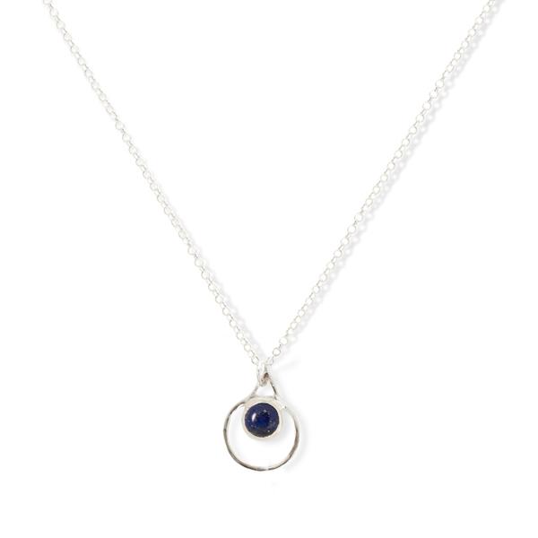 Small Single Chakra Pendant (Lapis Lazuli)