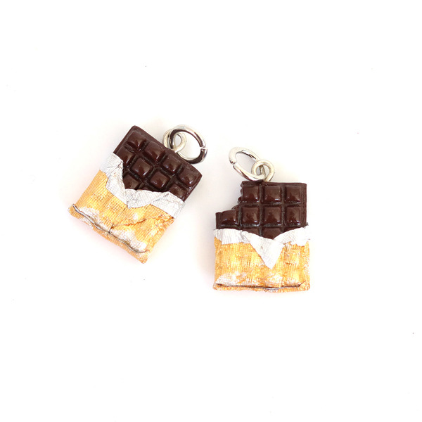 Chocolate Charm/ Necklace
