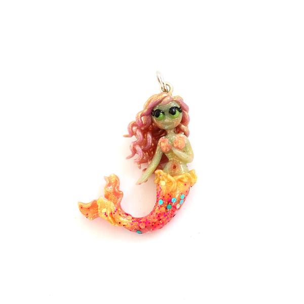 Haidai Mermaid Charm/ Necklace