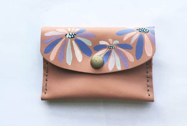 Mini purse - flower splash