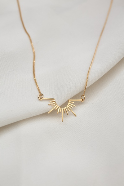 Golden Ray Necklace