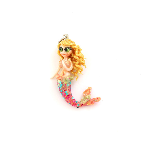 Alaria Mermaid Charm/ Necklace