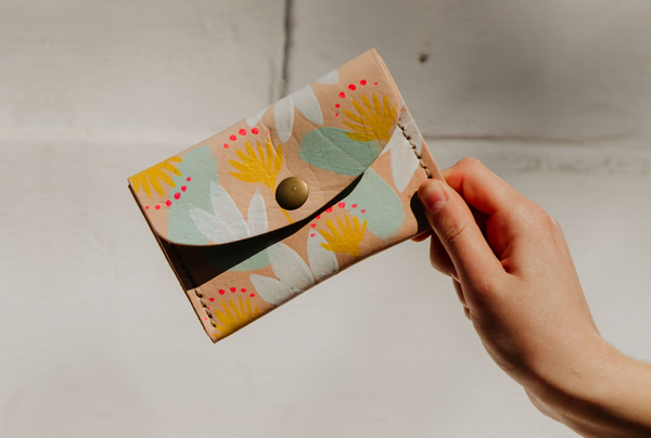 Hand painted Mini Purses - spring
