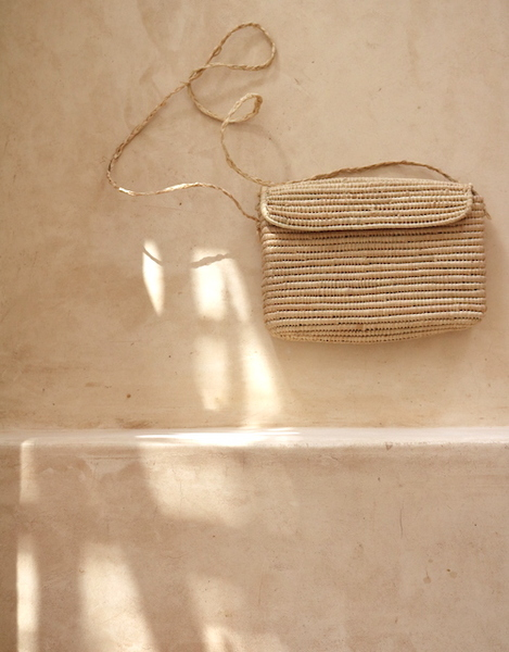Woven Square Handbag