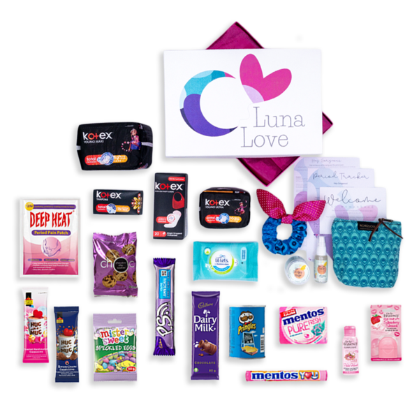 Luna Love | The ultimate first period gift box to welcome
