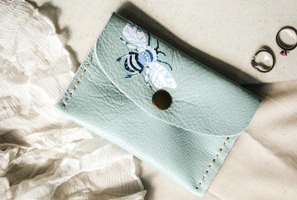 Mini purse - bee
