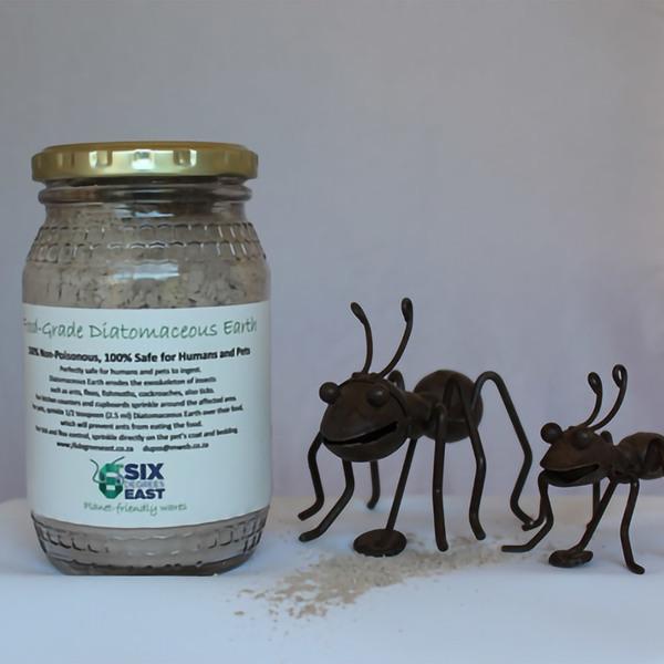 Diatomaceous earth - 100% Natural control for ants, fleas, fish moths, cockroaches etc.