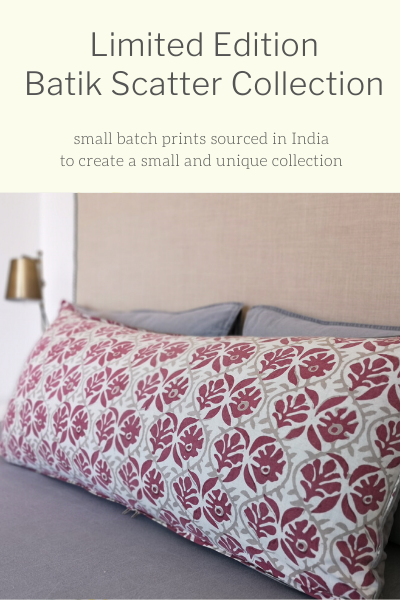 Limited Edition Batik Scatter Collection