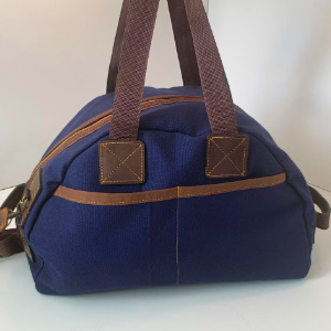 Overnight Duffle Bag - Canvas and Leather