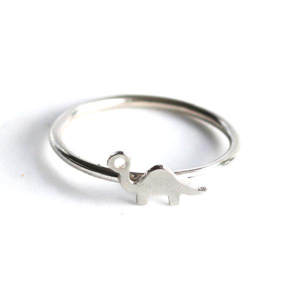 Silver Dino ring