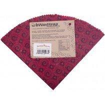 Bwax Round Wrap Red