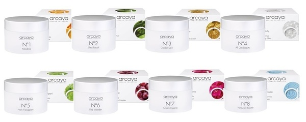 Arcaya skin creams offer concentrated care for every skin type and need. Environmental hazards, stress, UV rays, cold and heat all have a negative impact on our skin. Thanks to their high level of effectiveness, this day-time and night-time cream provides the ideal balance to these daily stresses. Lightweight and rich texture leaves the skin feeling and looking its best.