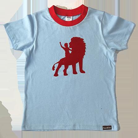 Boy on Lion Tee
