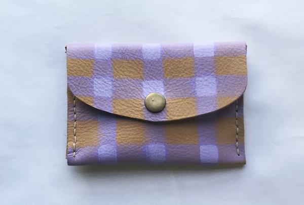 Mini purse - lilac picnic