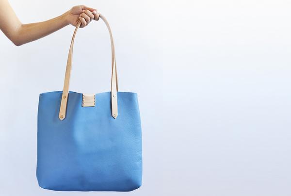 Soft Tote bag - sky