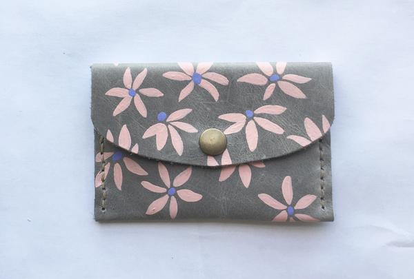 Mini purse - blush flourish