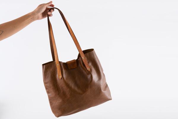 Soft Tote Bag - pecan