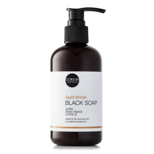 250ml Liquid African Black Soap Cleanser