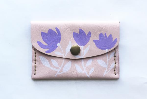 Mini purse - blossoms