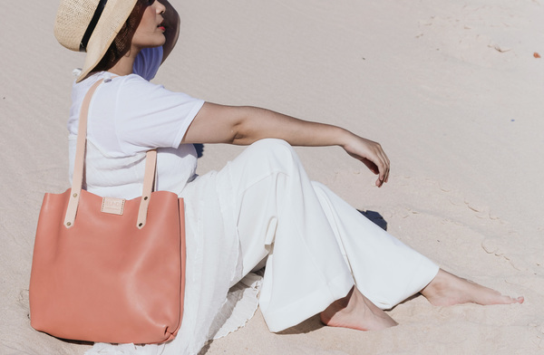 Soft Tote bag - Dusty Pink