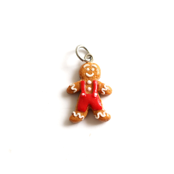 Gingerbread Man Charm/ Necklace