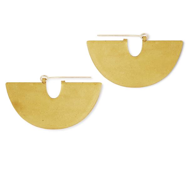 Volte Earrings (Halfmoon)