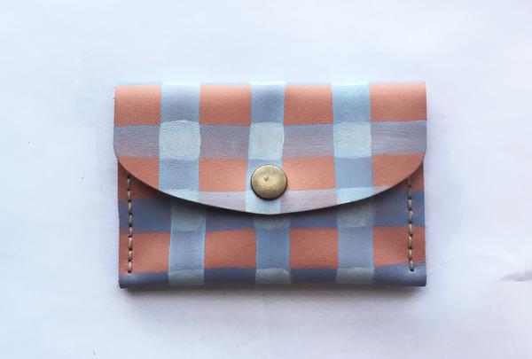 Mini purse - pink picnic