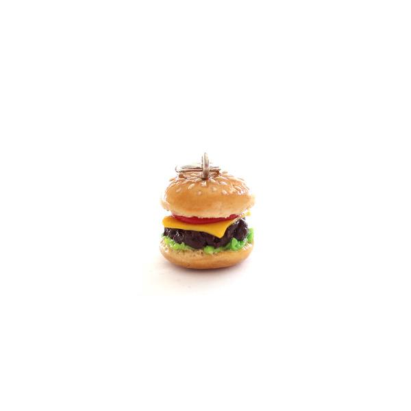 Hamburger Charm/ Necklace