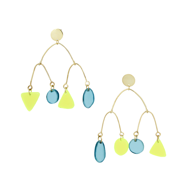 Branched Mobile Earrings