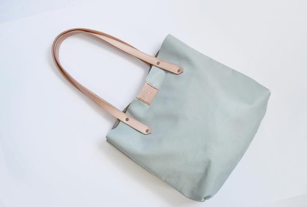 Soft Tote bag - pistachio